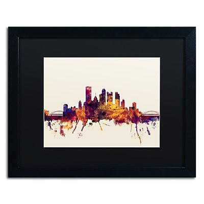 Trademark Fine Art ''Pittsburgh Skyline IV'' by Michael Tompsett 16