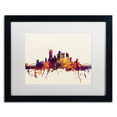 Trademark Fine Art ''Pittsburgh Skyline IV'' by Michael Tompsett 16