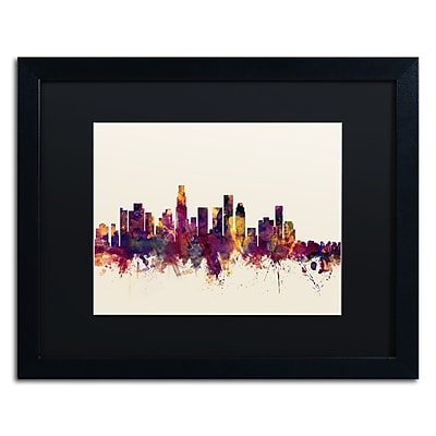 Trademark Fine Art ''Los Angeles California Skyline IV'' by Michael Tompsett 16