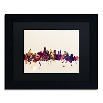 Trademark Fine Art ''Boston Massachusetts Skyline III'' by Michael Tompsett 11
