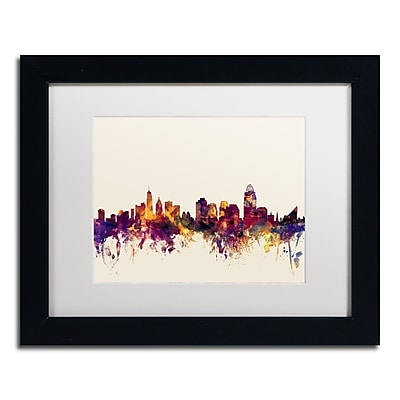 Trademark Fine Art ''Cincinnati Ohio Skyline IV'' by Michael Tompsett 11