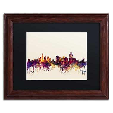 Trademark Fine Art ''Cincinnati Ohio Skyline IV'' by Michael Tompsett 11