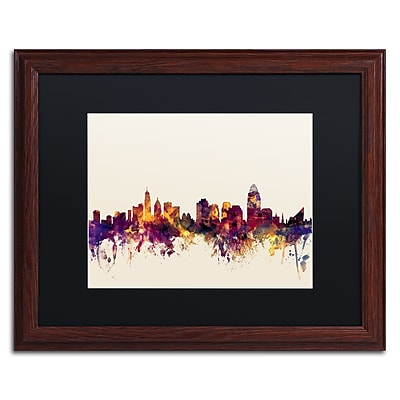 Trademark Fine Art ''Cincinnati Ohio Skyline IV'' by Michael Tompsett 16