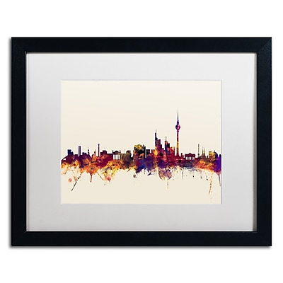 Trademark Fine Art ''Berlin Germany Skyline IV'' by Michael Tompsett 16