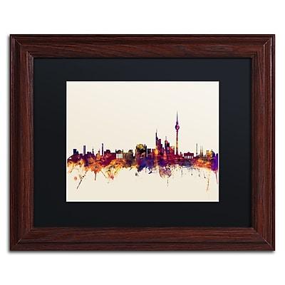 Trademark Fine Art ''Berlin Germany Skyline IV'' by Michael Tompsett 11