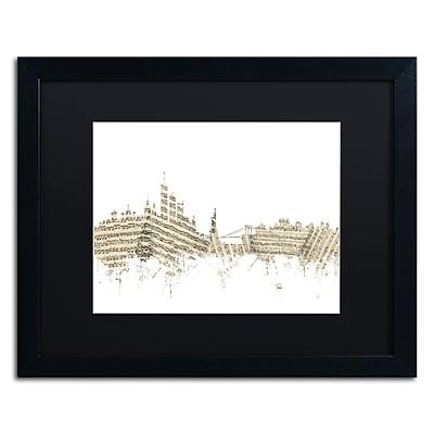 Trademark Fine Art ''New York Skyline Sheet Music'' by Michael Tompsett 16