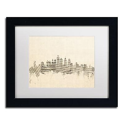 Trademark Fine Art ''Philadelphia Sheet Music II'' by Michael Tompsett 11