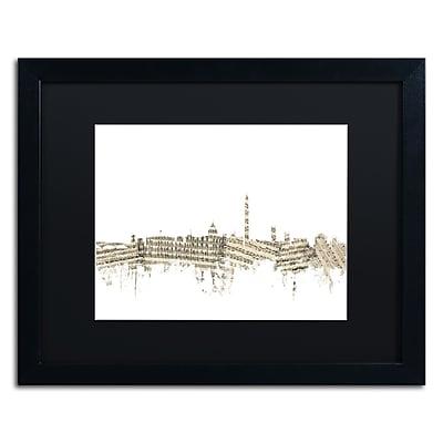 Trademark Fine Art ''DC Skyline Sheet Music II'' by Michael Tompsett 16