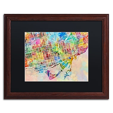 Trademark Fine Art ''Toronto Street Map'' by Michael Tompsett 16