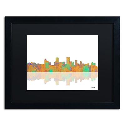 Trademark Fine Art ''Anchorage Alaska Skyline'' by Marlene Watson 16