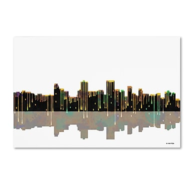 Trademark Fine Art ''Anchorage Alaska Skyline'' by Marlene Watson 30