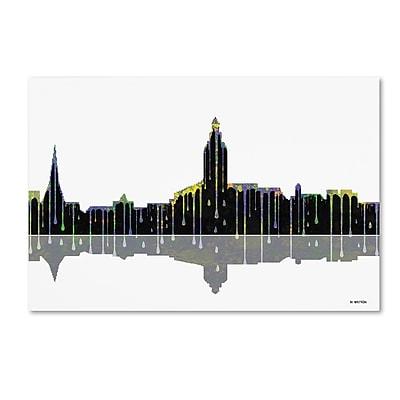 Trademark Fine Art ''Annapolis Maryland Skyline'' by Marlene Watson 16