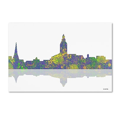Trademark Fine Art ''Annapolis Maryland Skyline'' by Marlene Watson 22