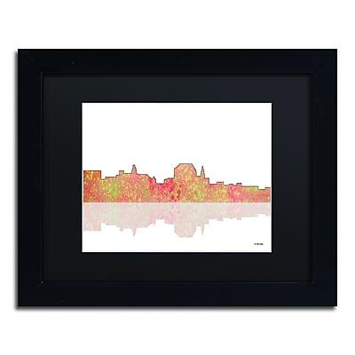 Trademark Fine Art ''Augusta Maine Skyline'' by Marlene Watson 11