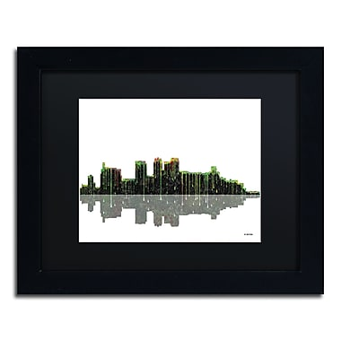 Trademark Fine Art ''Birmingham Alabama Skylin'' by Marlene Watson 11