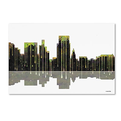 Trademark Fine Art ''Boise Idaho Skyline'' by Marlene Watson 16