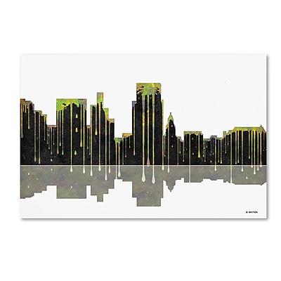 Trademark Fine Art ''Boise Idaho Skyline'' by Marlene Watson 22