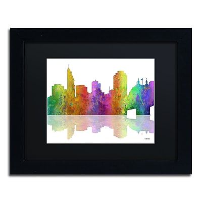 Trademark Fine Art ''Cincinatti Ohio Skyline'' by Marlene Watson 11