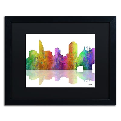 Trademark Fine Art ''Cincinatti Ohio Skyline'' by Marlene Watson 16