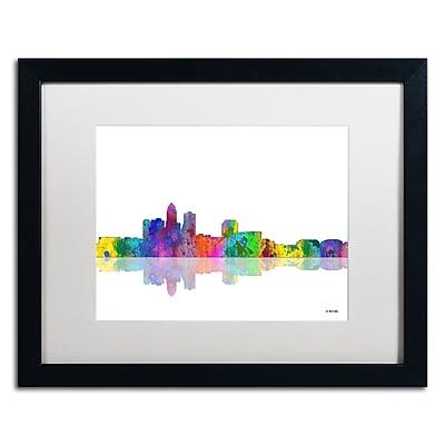 Trademark Fine Art ''Des Moines Iowa Skyline'' by Marlene Watson 16