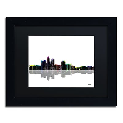 Trademark Fine Art ''Des Moines Iowa Skyline'' by Marlene Watson 11