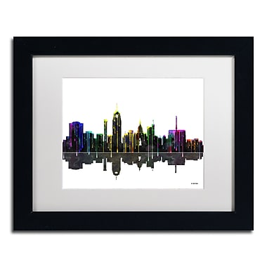 Trademark Fine Art ''Lansing Michigan Skyline'' by Marlene Watson 11