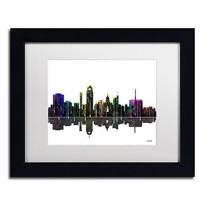 Trademark Fine Art ''Lansing Michigan Skyline'' by Marlene Watson 11