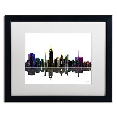 Trademark Fine Art ''Lansing Michigan Skyline'' by Marlene Watson 16