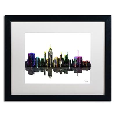 Trademark Fine Art ''Lansing Michigan Skyline'' by Marlene Watson 16