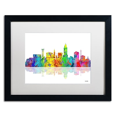 Trademark Fine Art ''Lincoln Nebraska Skyline'' by Marlene Watson 16