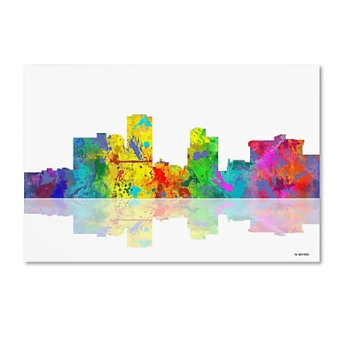 Trademark Fine Art ''Little Rock Arkansas Skyline'' by Marlene Watson 22