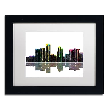 Trademark Fine Art ''Little Rock Arkansas Skyline'' by Marlene Watson 11