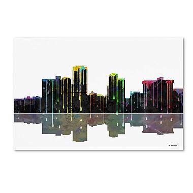 Trademark Fine Art ''Little Rock Arkansas Skyline'' by Marlene Watson 16