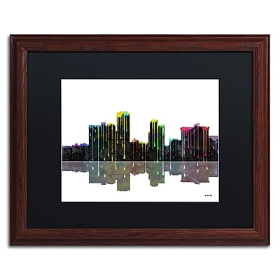 Trademark Fine Art ''Little Rock Arkansas Skyline'' by Marlene Watson 16
