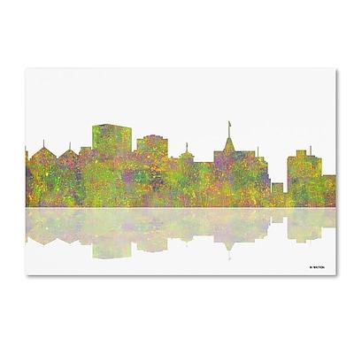 Trademark Fine Art ''Oakland California Skyline'' by Marlene Watson 22