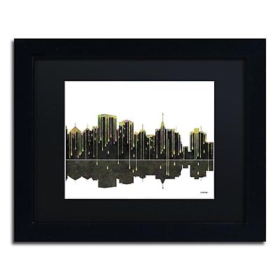 Trademark Fine Art ''Oakland California Skyline'' by Marlene Watson 11