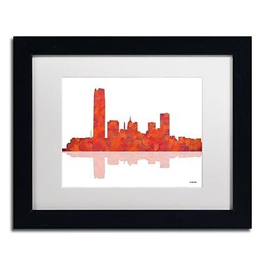 Trademark Fine Art ''Oklahoma City Oklahoma Skyline'' by Marlene Watson 11