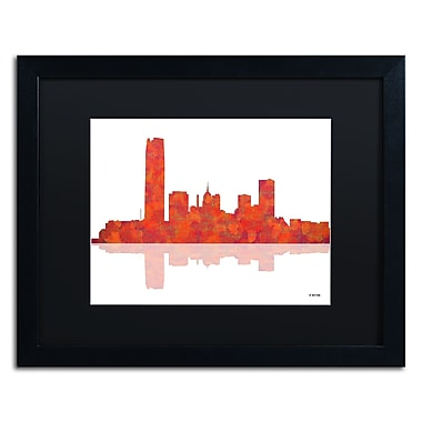 Trademark Fine Art ''Oklahoma City Oklahoma Skyline'' by Marlene Watson 16