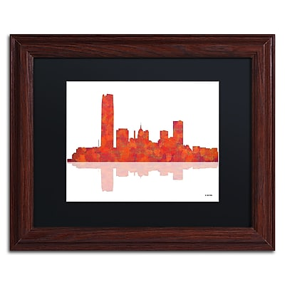 Trademark Fine Art ''Oklahoma City Oklahoma Skyline'' by Marlene Watson 11