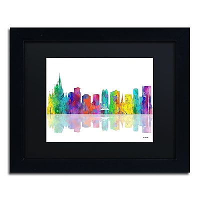 Trademark Fine Art ''Orlando Florida Skyline'' by Marlene Watson 11