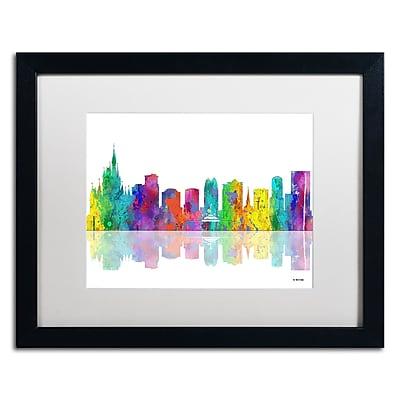 Trademark Fine Art ''Orlando Florida Skyline'' by Marlene Watson 16