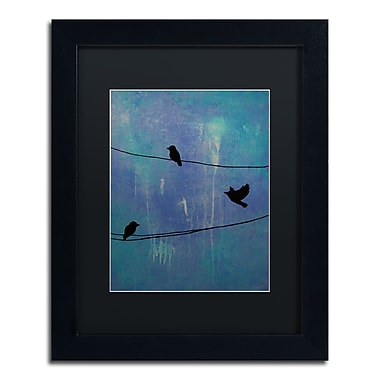 Trademark Fine Art ''Birds Arrival'' by Nicole Dietz 11