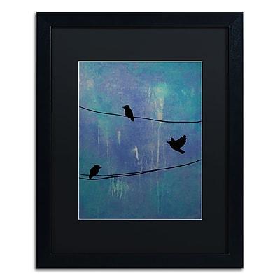 Trademark Fine Art ''Birds Arrival'' by Nicole Dietz 16