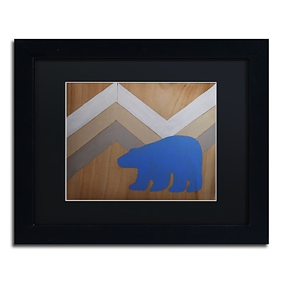 Trademark Fine Art ''Blue Polar Bear'' by Nicole Dietz 11