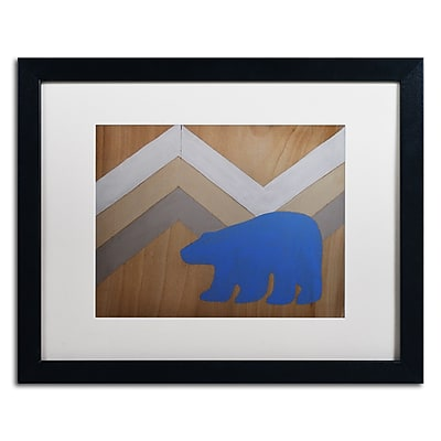 Trademark Fine Art ''Blue Polar Bear'' by Nicole Dietz 16
