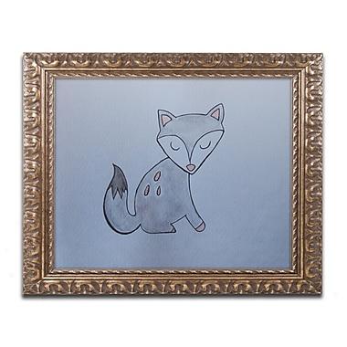 Trademark Fine Art ''Gray Fox'' by Nicole Dietz 11