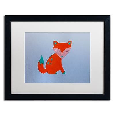 Trademark Fine Art ''Orange Fox'' by Nicole Dietz 16