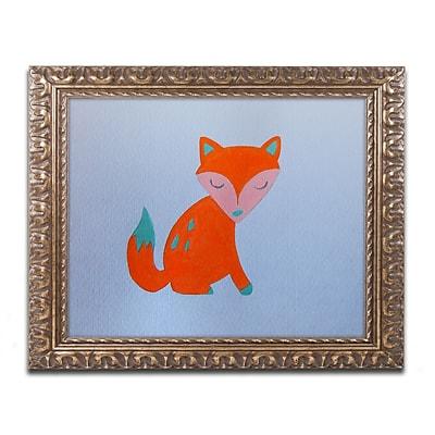 Trademark Fine Art ''Orange Fox'' by Nicole Dietz 11
