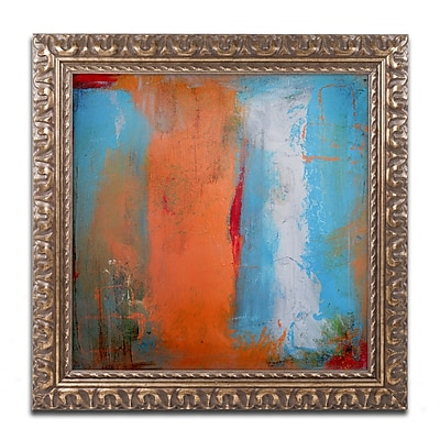Trademark Fine Art ''Orange Swatch'' by Nicole Dietz 16