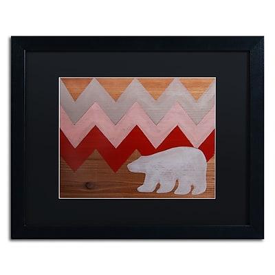 Trademark Fine Art ''Polar Bear Red'' by Nicole Dietz 16